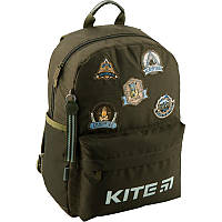 Рюкзак школьный Kite Education Camping 38x26x11 см 12 л Хаки (K19-719M-4)