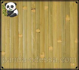 """Бамбуковые обои """"Оливка"""", 1,5 м, ширина планки 17 мм / Бамбукові шпалери"""