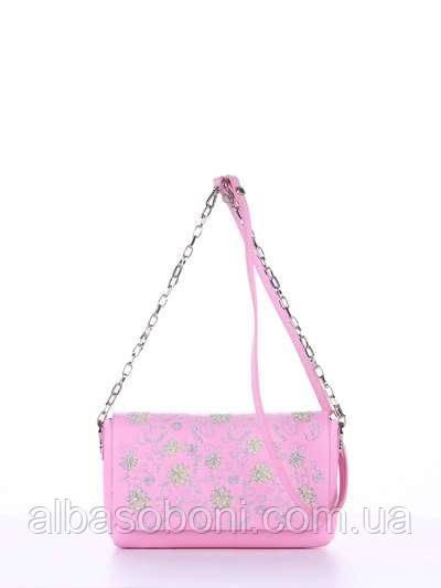 0d851a4421cb Женский клатч с вышивкой цвет розовый - alba soboni bags в Николаеве