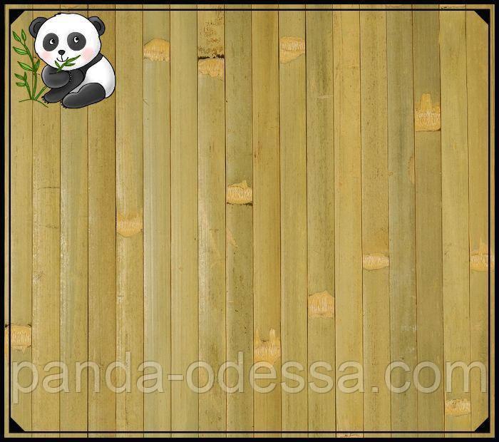 """Бамбуковые обои """"Оливка"""", 2,5 м, ширина планки 17 мм / Бамбукові шпалери"""