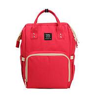 Рюкзак-сумка для мам CyBee Красный