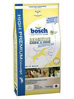 Корм БОШ Сенситив BOSCH Sensitive гипоаллергенный для собак 15кг БЕСПЛАТНАЯ ДОСТАВКА