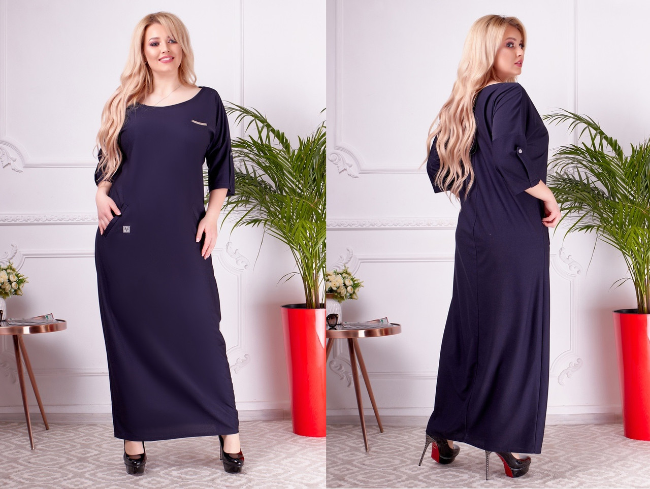 Платье женское 1317бн батал