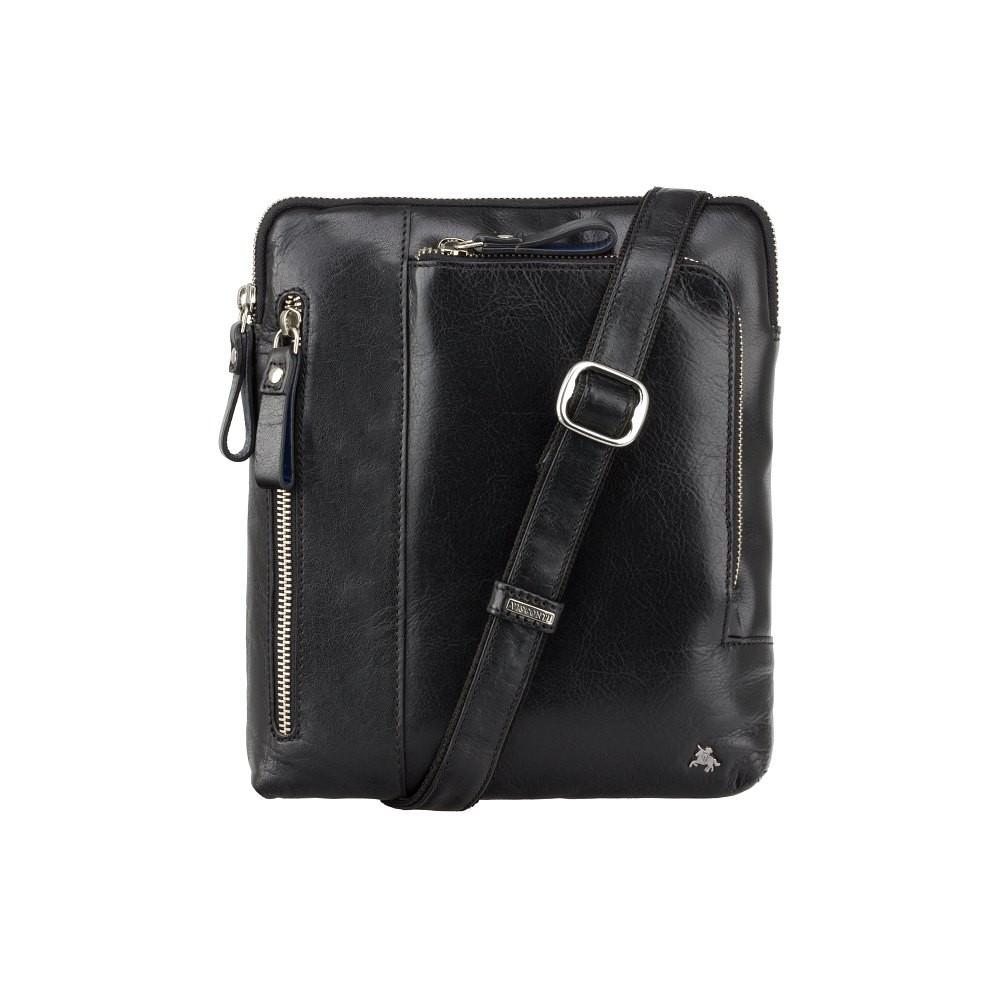 Стильная мужская сумка Visconti ML20 Black (Великобритания)