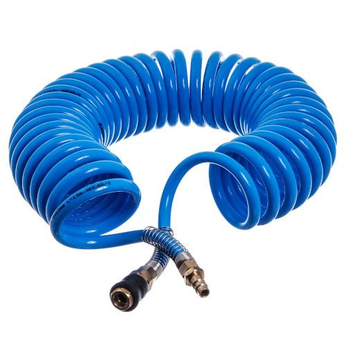 Шланг спиральный полиуретановый (PROFI) 8*12мм L=15м  AIRKRAFT. Made in Italy.   AHC48-K