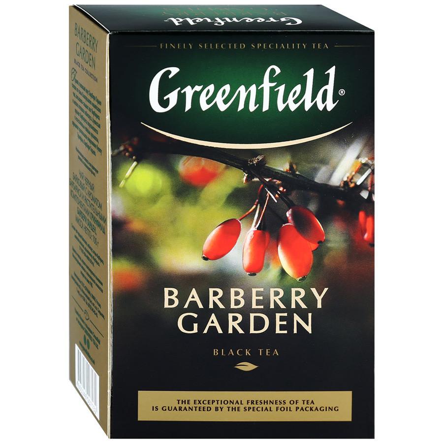 Чай черный кенийский с барбарисом Greenfield Barberry Garden 100 гр.