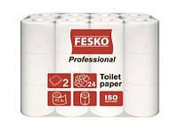 """Туалетная бумага """"Fesko"""" Professional 24 рул 2-слойная"""