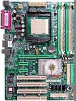 Материнская плата s939 Biostar NF4-A9A 4xDDR бу
