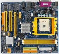 Материнская плата s754 Biostar Tforce 6100 (2xDDR 2xSATA IDE PCIE) бу УЦЕНКА!