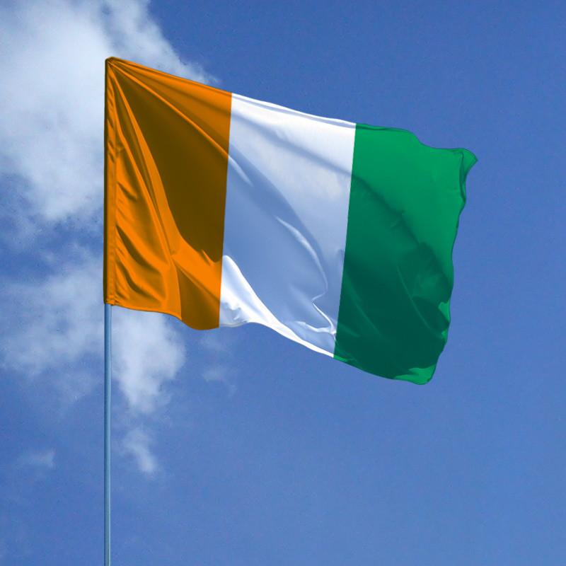 Флаг Кот-д'Ивуар