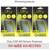 Защитное стекло Utty™ 2.5D прозрачное 9H Айфон 4 iPhone 4 Айфон 4s iPhone 4s Оригинал