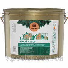 Eskaro Wood House 2,7 л Зносостійка лазур для дерев'яних фасадів Безбарвний 6430011069675