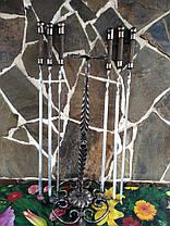 """Набор шампуров """"Круг"""" ручной работы под бронзу., фото 3"""