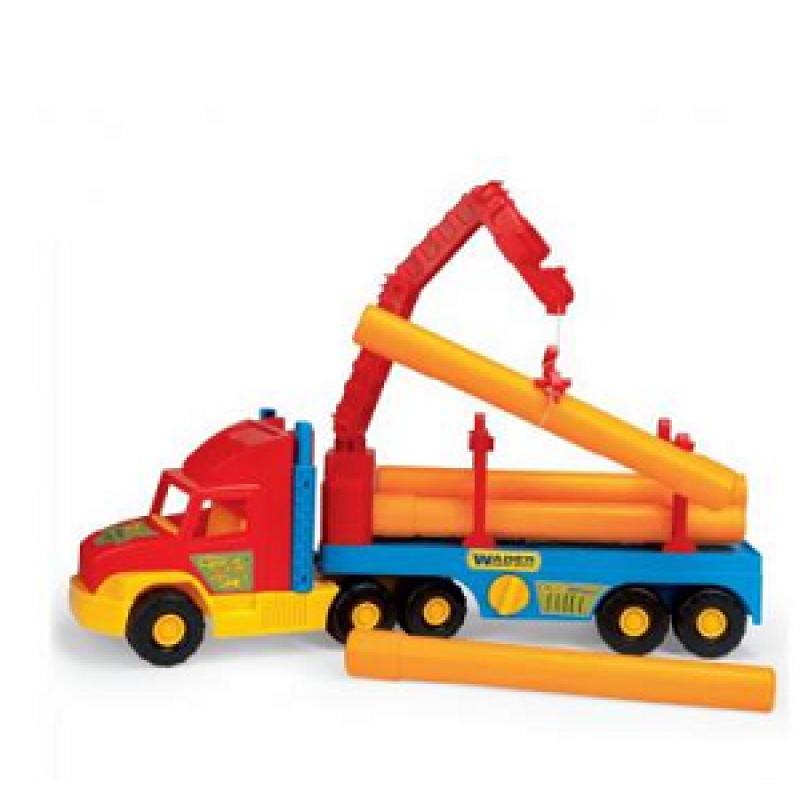 🔥✅ Игрушечная Строительная Машинка Тягач 36540 Wader Super Track