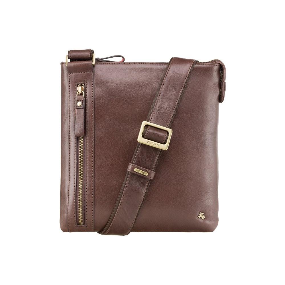 Мужская сумка через плечо Visconti ML25 Brown (Великобритания)