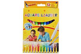 Фломастеры акварельные Malinos Aquarellzauber 12 шт