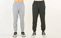 Штаны спортивные мужские с манжетом 9303: размер 160-185см (2 цвета)
