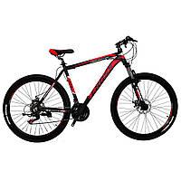 """Алюминиевый  горный велосипед 27.5"""" CROSS HUNTER (Shimano, монетки), фото 1"""