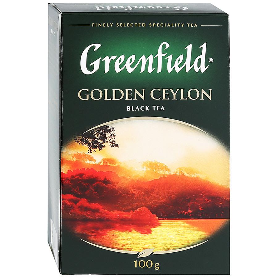 Чай черный цейлонский Greenfield Golden Ceylon 100 гр.