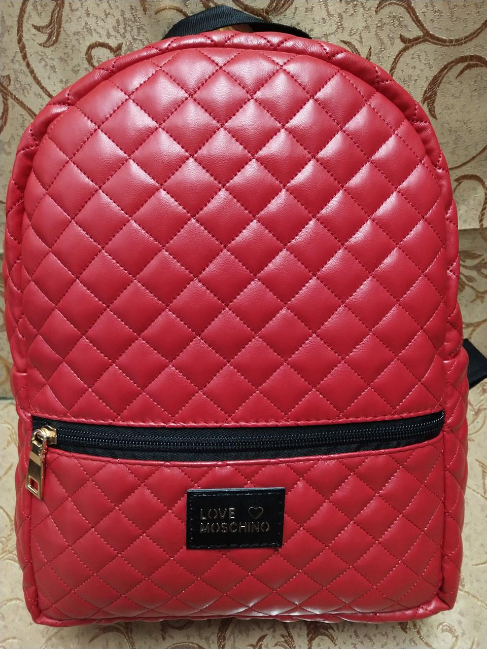 553338046495 Женский рюкзак love moschino 29.5*22*11.5 (красный): продажа, цена в ...