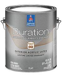 Краска Duration Exterio Flat Sherwin-Williams глубокоматовая фасадная экстра белая, 3,63л (дюрейшн)
