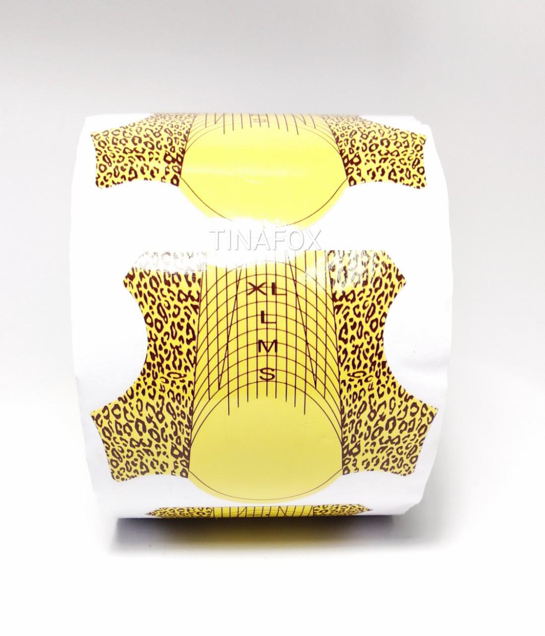 Форми для нарощування нігтів в рулоні 500 шт