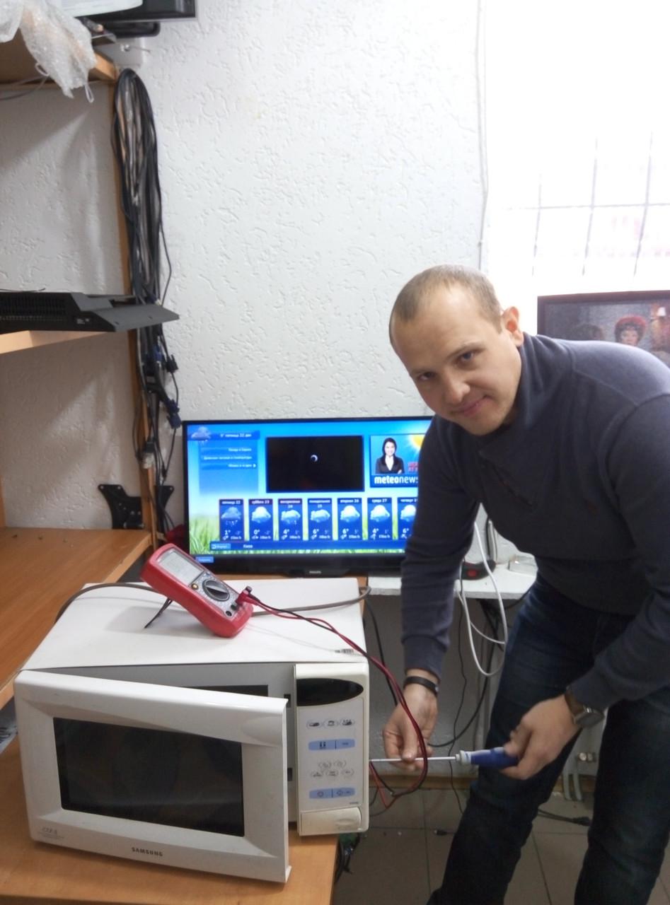 ремонт шлейфа микроволновой печи