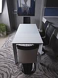 Стол BRISTOL S (Бристоль) 100/150х74 cm белый стекло Nicolas (бесплатная доставка), фото 5