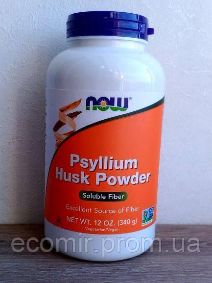 Псиллиум, Now Foods (340 г)
