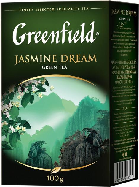 Чай зеленый с жасмином Greenfield Jasmine Dream 100 гр.