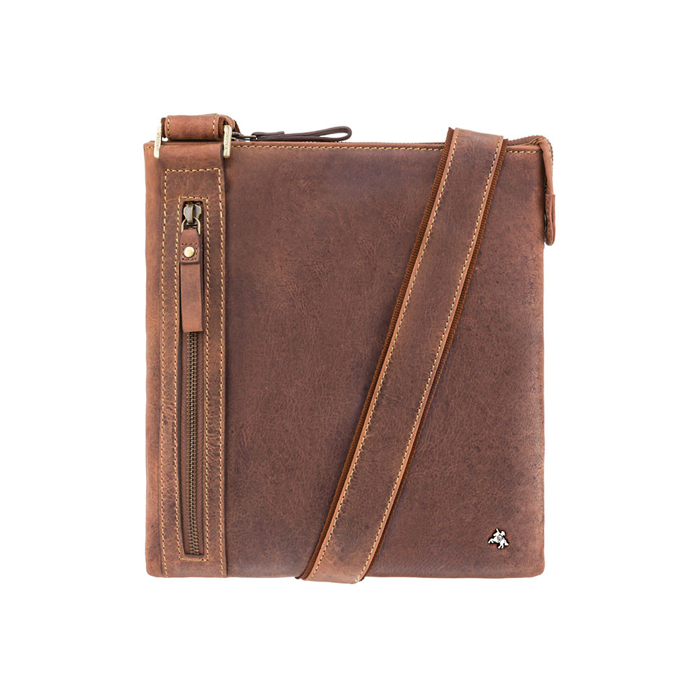 Мужская сумка через плечо Visconti 16111 Oil tan (Великобритания)