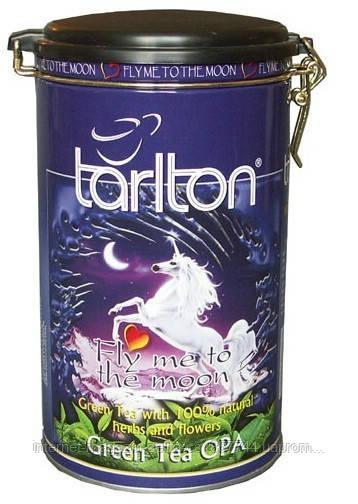 "Чай зеленый Тарлтон ""Лунный полет"" ж\б 300 гр"