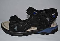 Кожаные босоножки сандалии для мальчиков р-ры  34, 35  реплика ЕССО,  ТМ EEBB 9077, фото 1