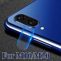 Защитное стекло на камеру Samsung Galaxy M10 (2019) M105
