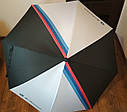 Зонт трость BMW M Motorsport Umbrella, Black/White (80232461135), фото 3