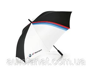 Зонт трость BMW M Motorsport Umbrella, Black/White (80232461135)