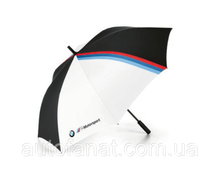Зонт трость BMW M Motorsport Umbrella, Black/White (80232461135)