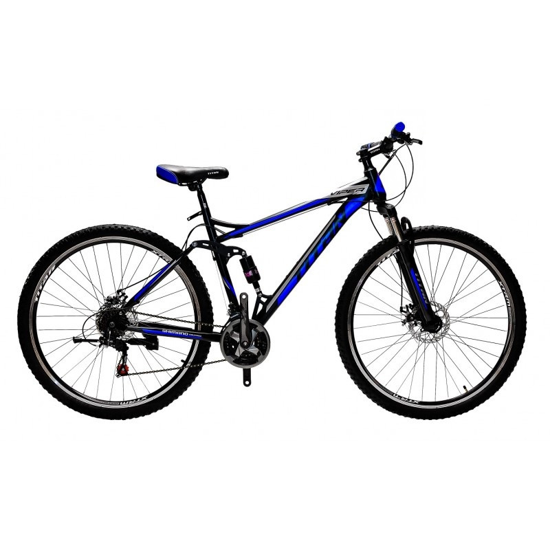 """Шикарный горный велосипед двухподвесник  29"""" Titan VIPER DD (Shimano, disk, монетки), фото 1"""