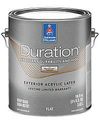 Краска Duration Exterior Flat Sherwin-Williams глубокоматовая фасадная насыщенные оттенки, 3,43л (дюрейшн)