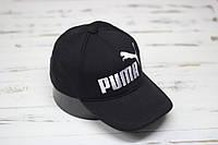 Кепка бейсболка PUMA черная, фото 1