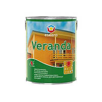 Eskaro Veranda, 2,85 л Защитная краска для деревянных фасадов арт. 4740381000423 Белая
