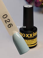 Гель лак Oxxi Professional №026, 8мл
