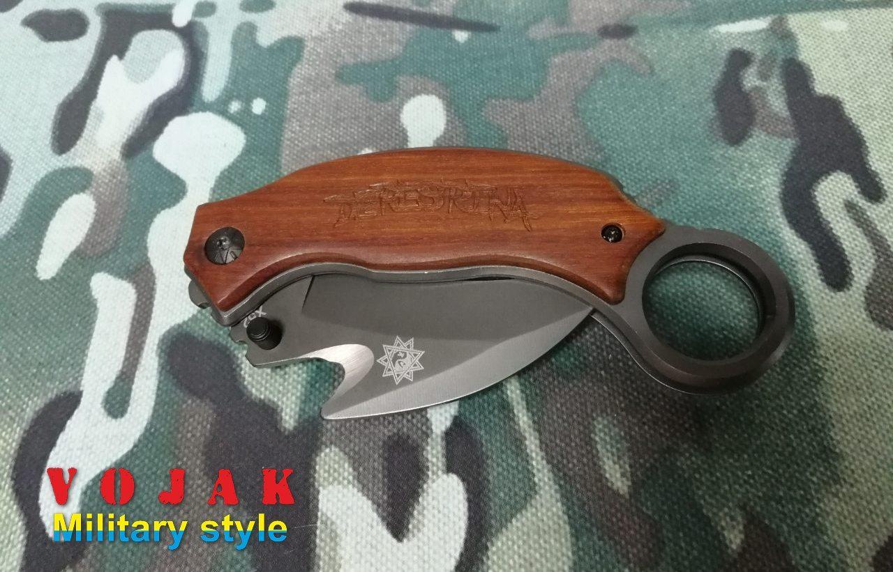 Нож складной, механический керамбит Grand Way X 52