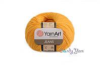 YarnArt Jeans, желтый №35