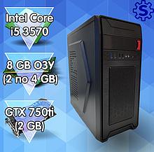 Игровой ПК, i5 3570, GTX 750ti 2Gb, DDR3 8Gb