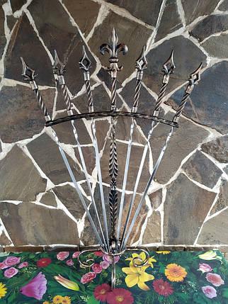 """Набор шампуров """"Веер"""" ручной работы под бронзу., фото 2"""