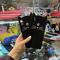 Чехол Кот для Huawei P Smart+, Nova 3i Котик