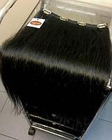 Натуральные волосы на заколках - прицепные.