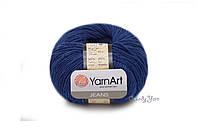 YarnArt Jeans, тёмно синий №54