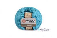 YarnArt Jeans, светло бирюзовый №33